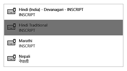 How to install Hindi Traditional Keyboard when using Windows 10 while taking an Avant Assessment Language Proficiency Test