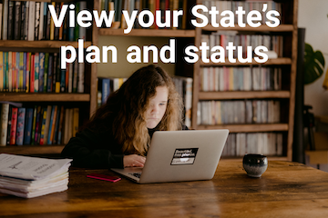 View your state's plan and status